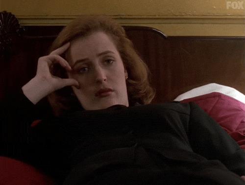 Gillian Anderson in X-Files