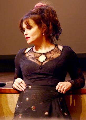 Helena Bonham Carter durante la presentazione di Casa Howard