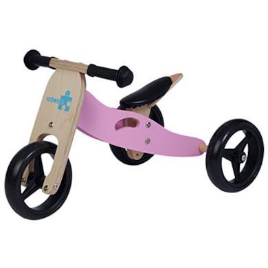 Triciclo senza pedali rosa