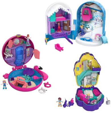 Polly Pocket Playset tascabili