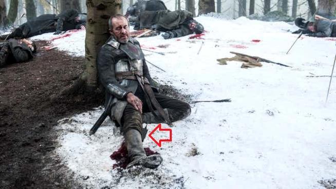 Stannis Baratheon sta morendo