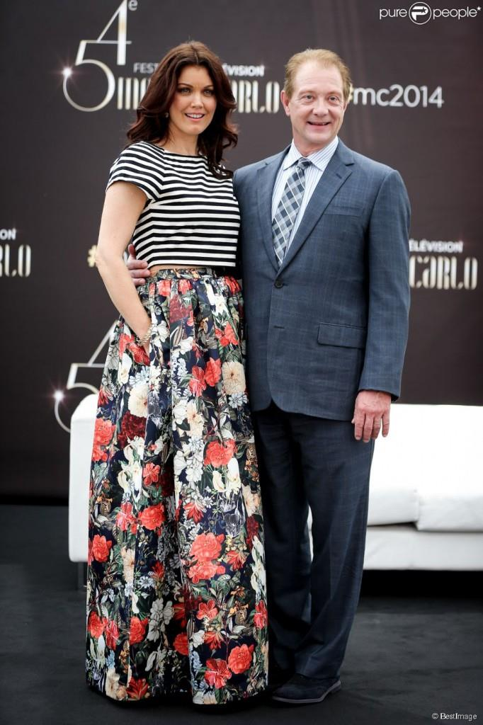 Bellamy Young e Jeff Perry