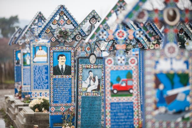 Săpânța: un cimitero allegro per commemorare i morti