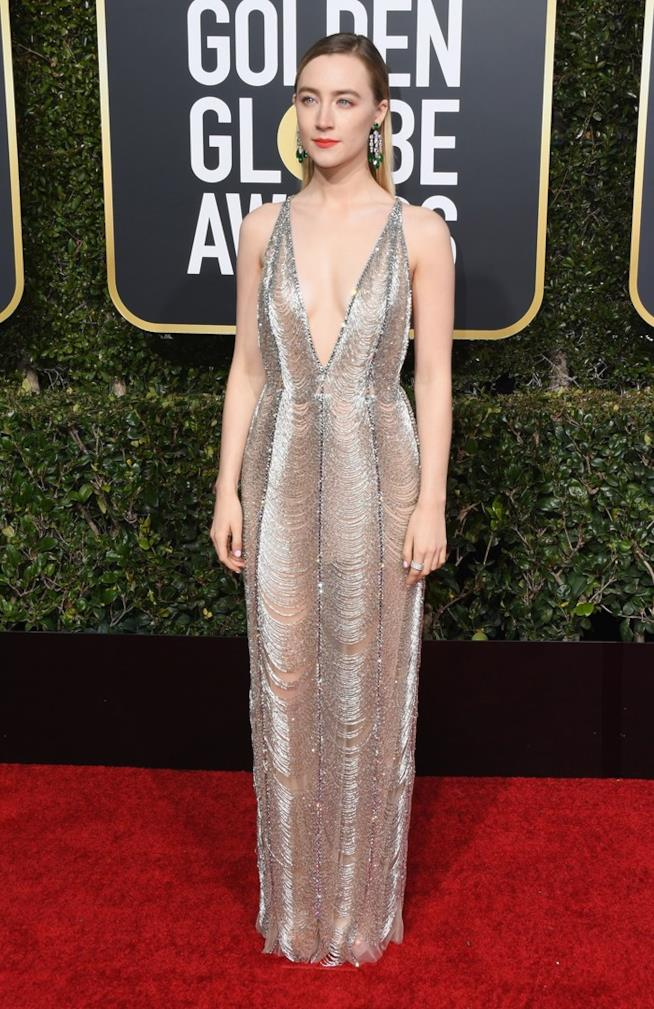 Saoirse Ronan ai Golden Globes 2019