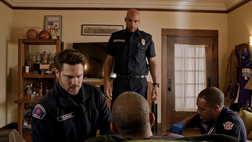 Un'immagine dall'episodio 2x19 di Station 19