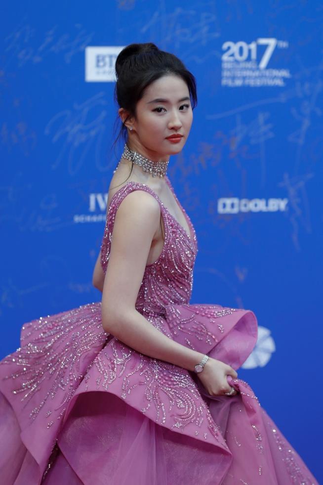 Liu Yifei sul red carpet