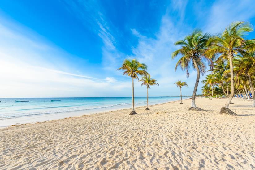 Playa Paraiso: un paradiso di palme di cocco e sabbia finissima