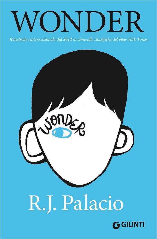 Wonder, la copertina dell'edizione italiana del libro