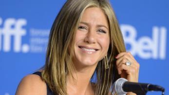 L'attrice Jennifer Aniston al Toronto Film Festival