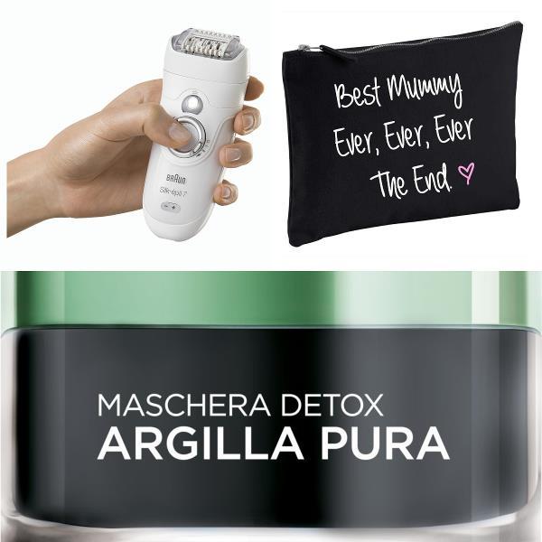 Braun Silk-Épil, beauty case e maschera detox L'Oréal Paris