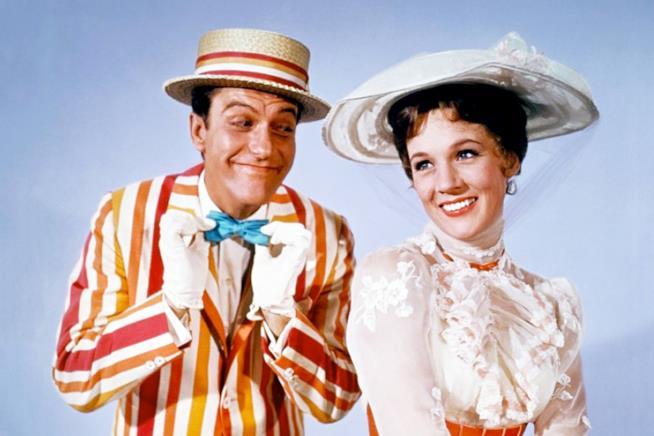Un'immagine dal film Mary Poppins