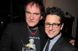 I due registi Quentin Tarantino e JJ Abrams ad una festa