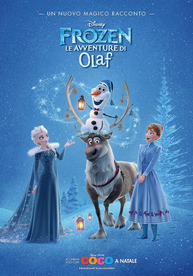 Il manifesto di Forze - Le avventure di Olaf