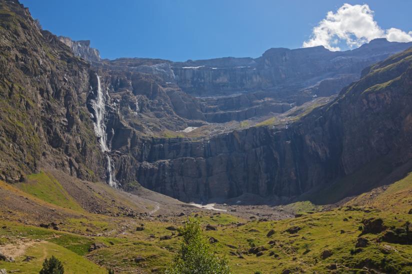 il Cirque de Gavarnie, un anfiteatro naturale di roccia