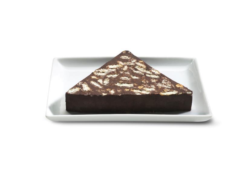 Salame al cioccolato in versione natalizia