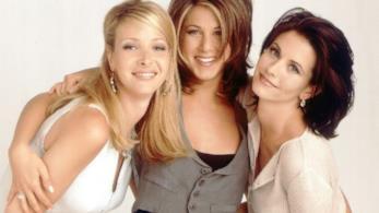 Phoebe, Rachel e Monica di Friends