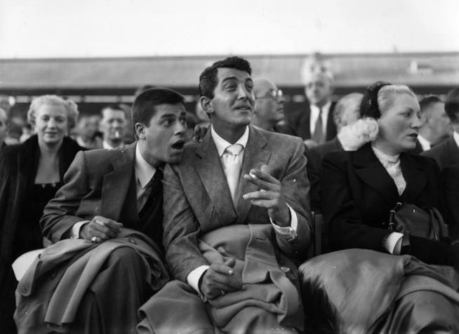 Il duo comico Dean Martin e Jerry Lewis