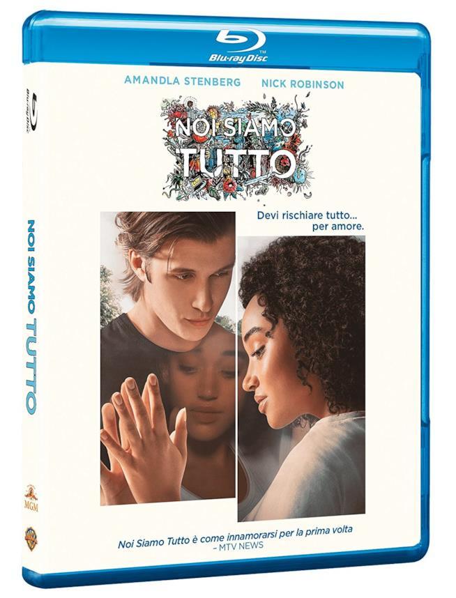La copertina del Blu-Ray di Noi siamo tutto