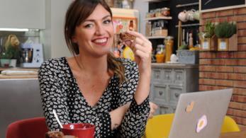 Chiara Maci sul set di VitadaFoodblogger