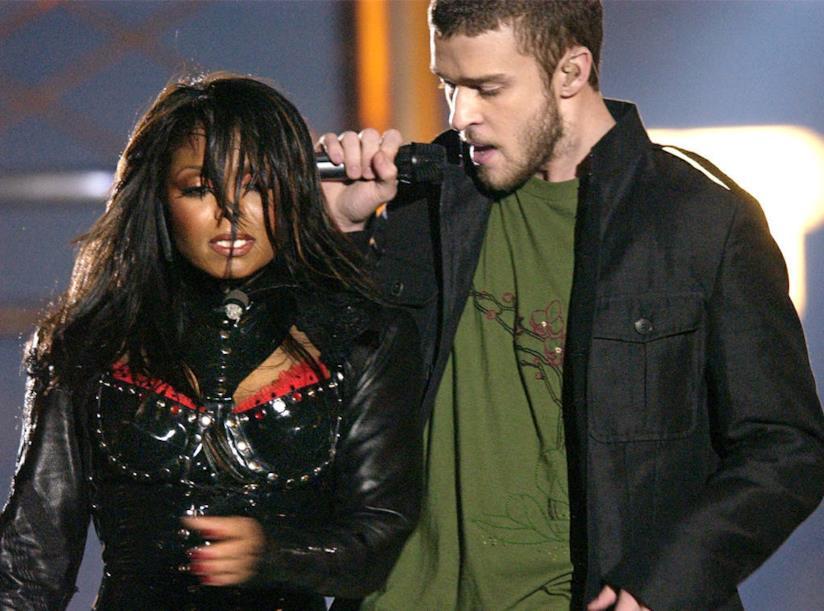 L'incidente di Janet Jackson e Justin Timberlake al Super Bowl del 2004