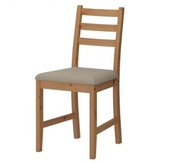 Sedia in legno LERHAMN