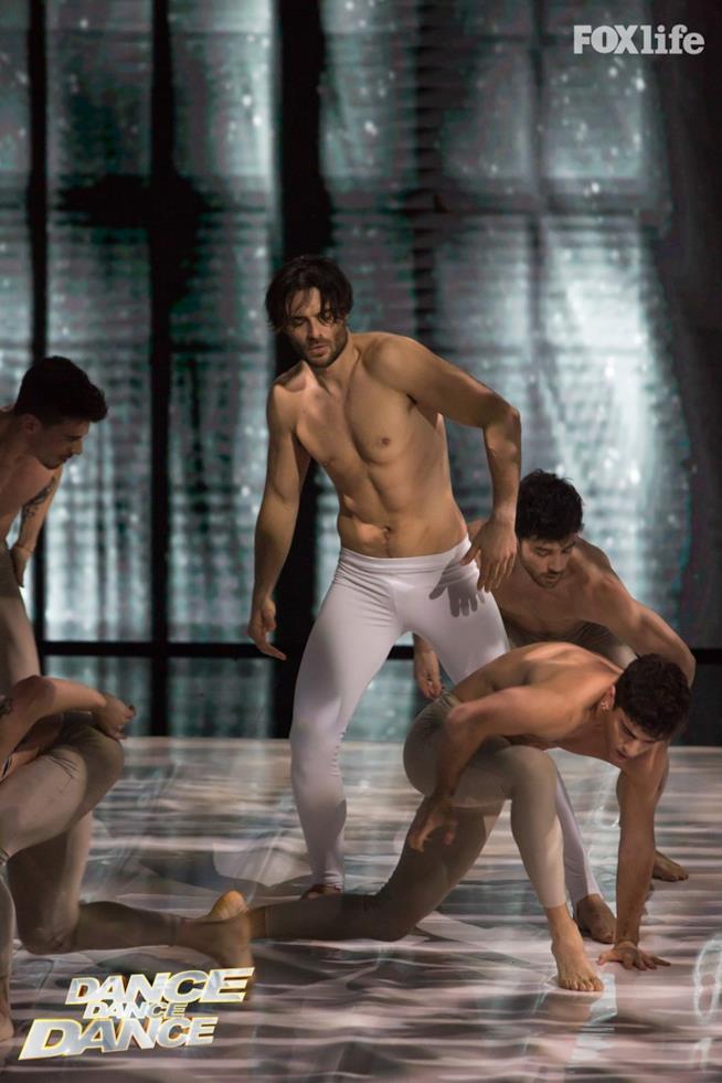 Giulio Berruti balla a Dance Dance Dance