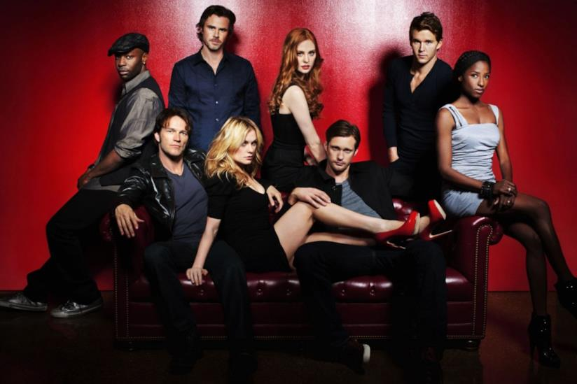 Anna Paquin, Stephen Moyer e il resto del cast di True Blood