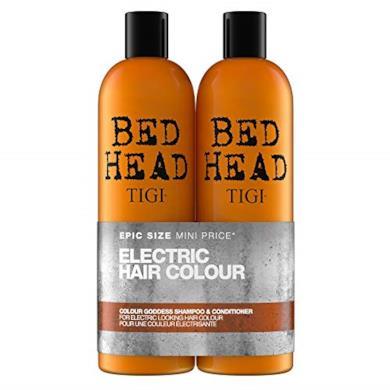 Shampoo e balsamo per capelli colorati