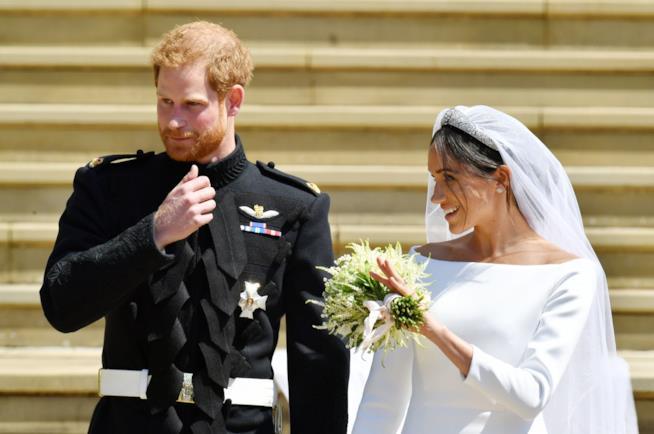 Acconciatura sposa di Meghan
