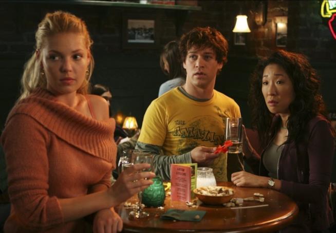 Izzie, George e Cristina nelle prime stagioni di Grey's Anatomy
