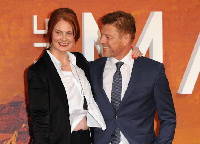 Sean Bean e la moglie Ashley Moore