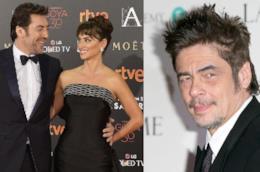 Javier Bardem,Penelope Cruz e Benicio Del Toro