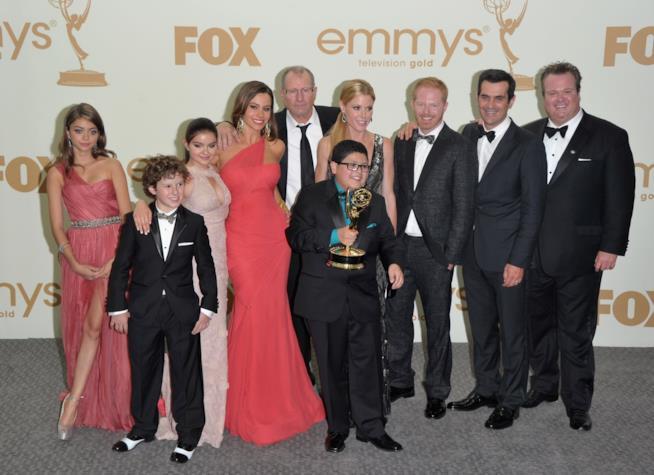 I protagonisti della serie TV Modern Family