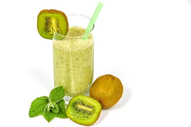 Frullato di kiwi e yogurt
