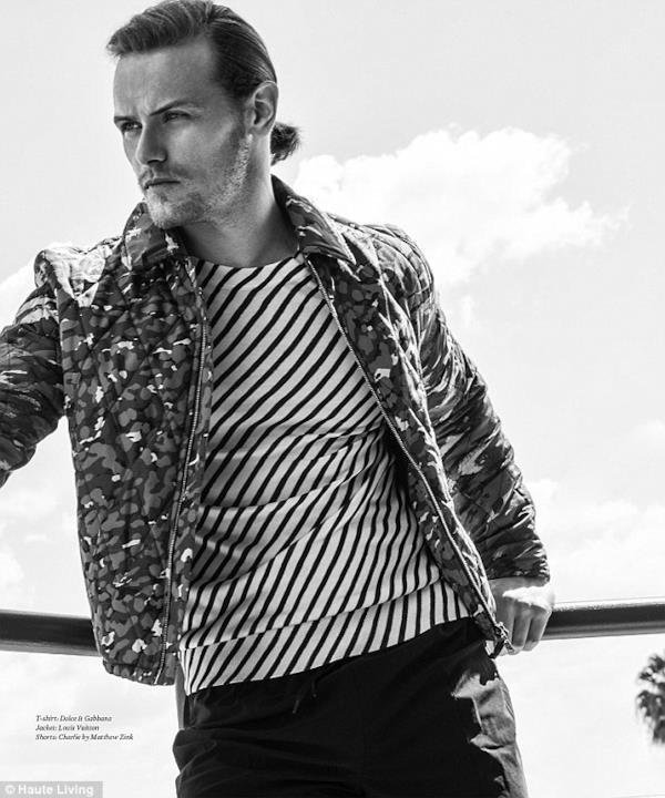 Louis Vuitton e Dolce & Gabbana per Sam Heughan