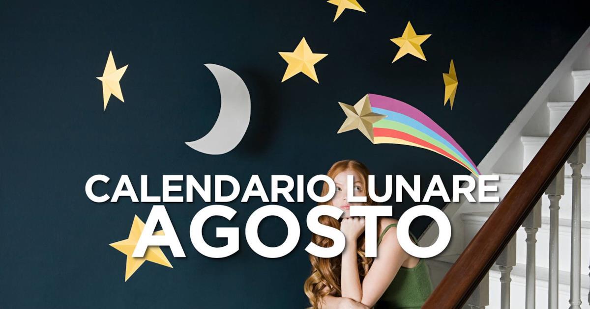 Calendario Lunare Salute E Bellezza.Calendario Lunare Gli Effetti Delle Fasi Lunari Su