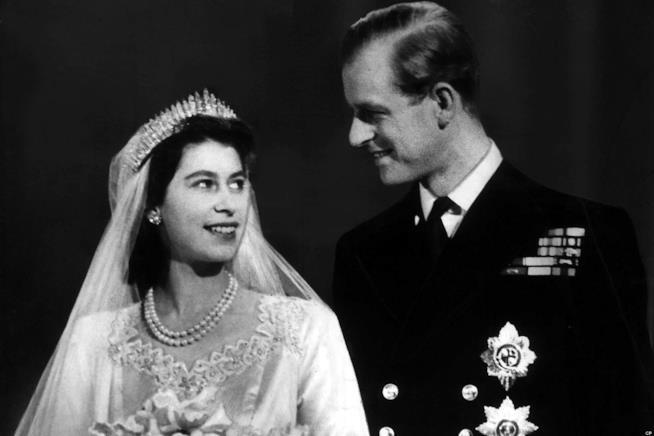 Le nozze della Regina Elisabetta II e del Principe Filippo