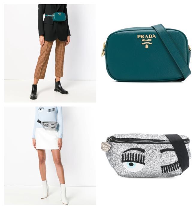 In stile anni '90, il marsupio di moda per l'A/I 2018-2019