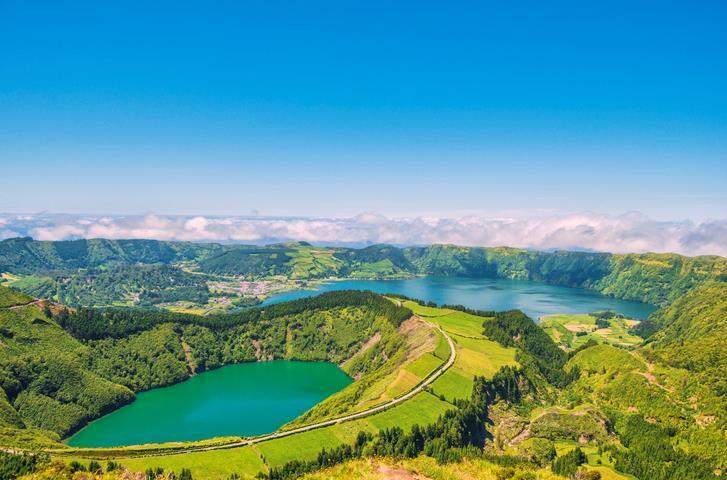 I laghi vulcanici della Caldeira das Sete Cidades alle Azzorre
