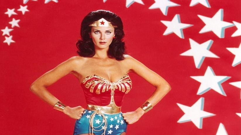 Lynda Carter attrice nella serie TV Wonder Woman