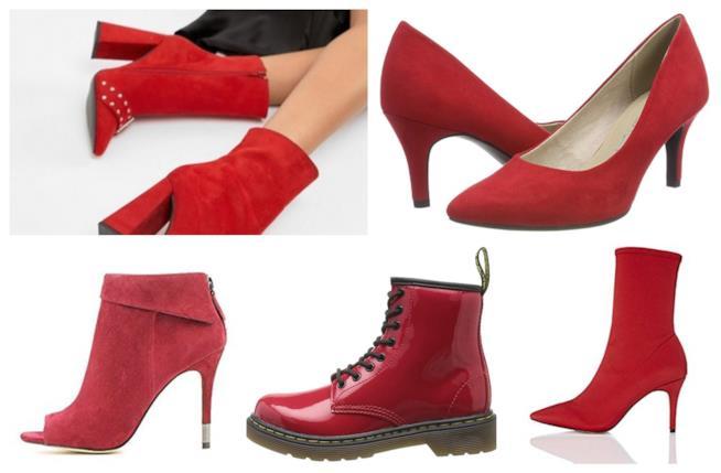 Le scarpe rosse must have per l'A/I 2018-19
