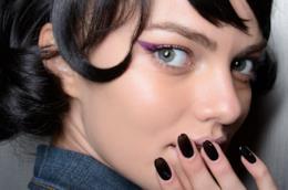 Nail art unghie gel nere 2019: le più glam