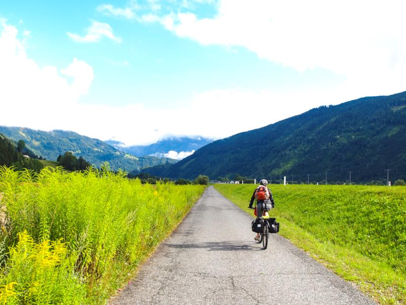 La Ciclabile Drava da percorrere in bici