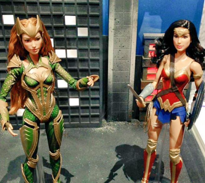 Le Barbie di Mera e Diana