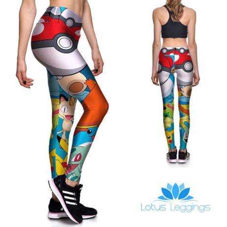 Leggings ispirati ai Pokémon
