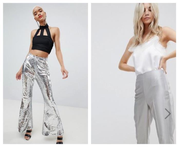 Dall'effetto silver, i pantaloni lunghi P7E 2018