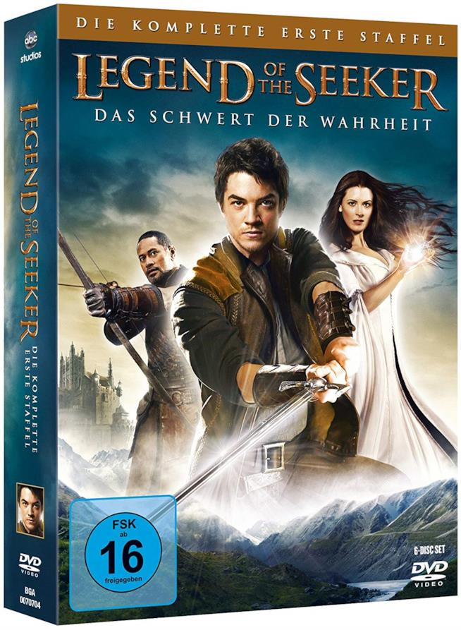 Cofanetto Blu-ray di Legend of the Seeker - Season 1