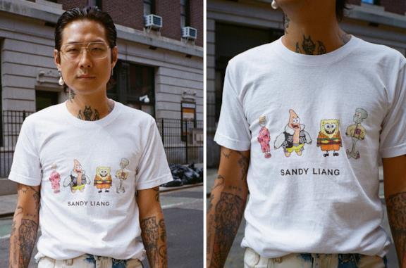 Sandy Liang x SpongeBob SquarePants