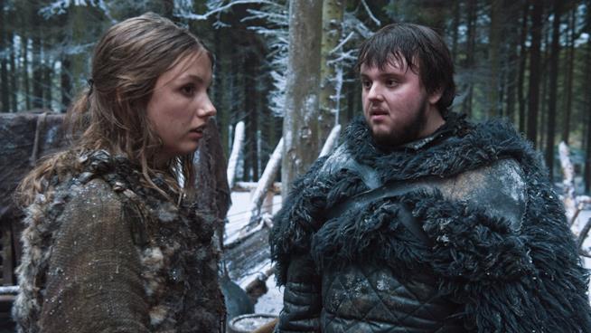 Sam e Gill de Il trono di spade