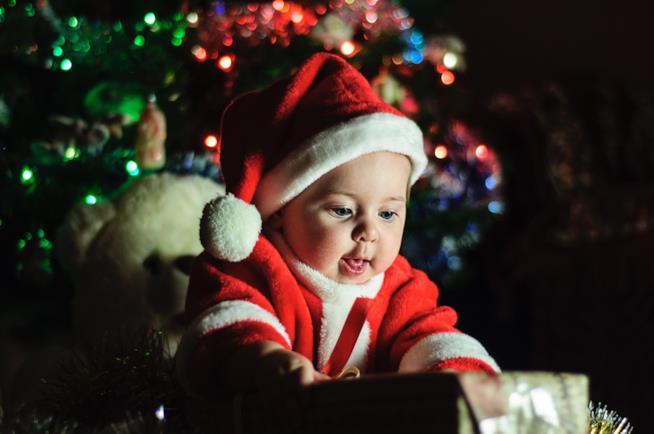 Neonato a Natale